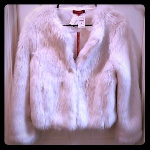 NWT Philanthropy faux fur jacket